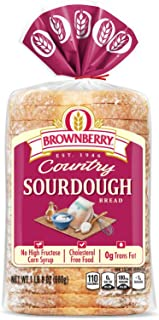 Brownberry Country Sourdough Bread, Rustic with Rich, Deep Flavor, 24 oz