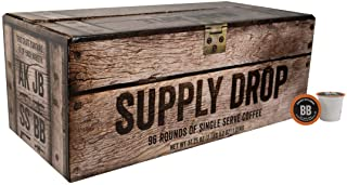 Black Rifle Coffee Company Supply Drop Variety Pack Coffee Rounds | 96 Count K Cup Compatible Variety Pack Coffee Pods for Single Serve Coffee | Compatible with Keurig | Perfect Coffee Lovers
