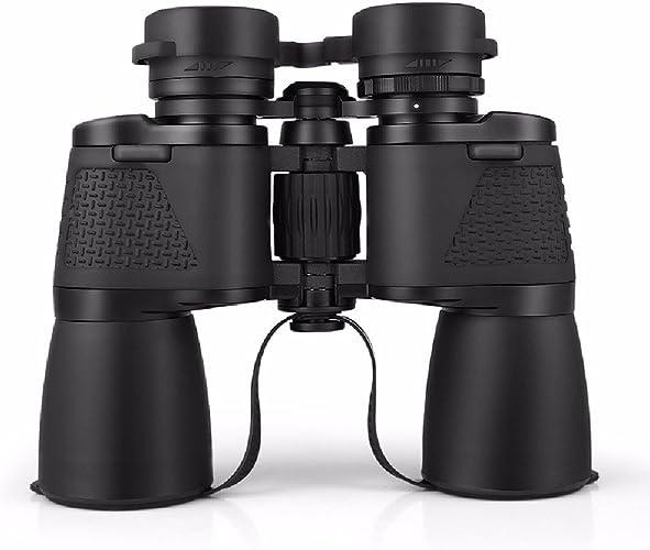 KHSKX 12 x 50 Jumelles, télescope de Vision de Nuit de Haute définition Haute Puissance, Non Infrarouge télescope 1000 Fois