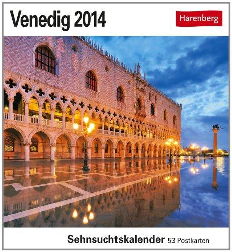Venedig 2014: Sehnsuchtskalender. 53 Postkarten