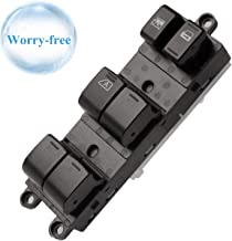 Fits 25401-ET000 Front Left Power Window Master Control Switch Replacement for 2005-2012 Nissan Frontier Crew Cab, Nissan Xterra, 2007-2008 Nissan Sentra