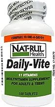 NAT-Rul Daily Vite Multivitamin Tablets 100