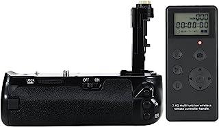 DSTE Pro Batería Apretón Built in 2.4G Wireless Remote Control Compatible con Canon EOS 6D Mark II as BG-E21