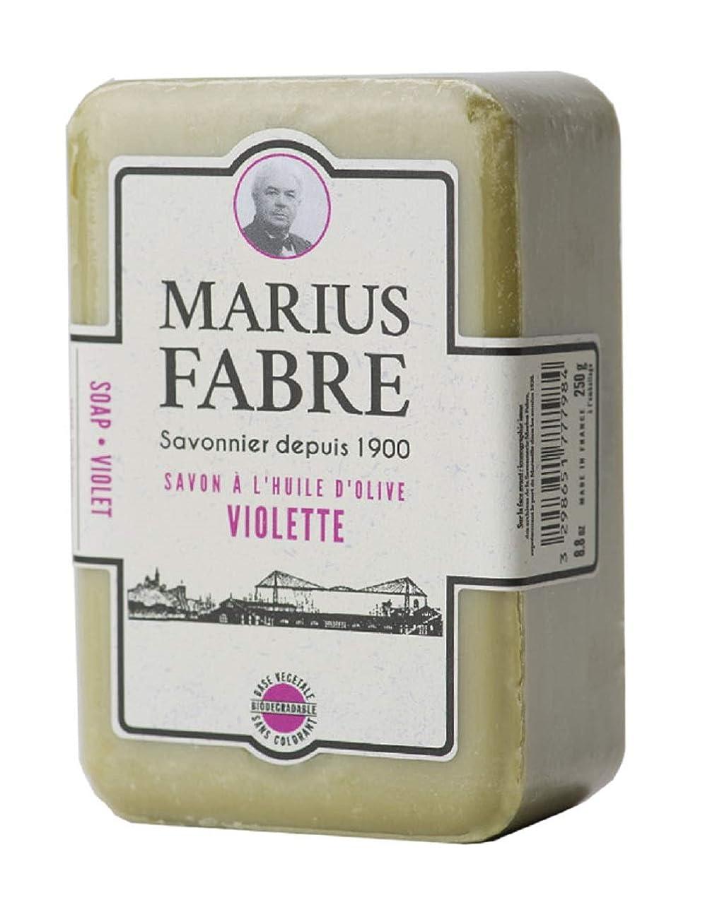 疼痛ユーザードルサボンドマルセイユ 1900 バイオレット 250g