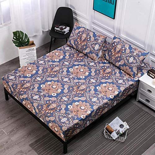 CDFD hoeslaken met elastische band, comfortabel, ademend, voor het bevochtigen van het bed, mijtdicht, hoeslaken, waterdicht