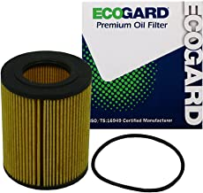 ECOGARD X5247 Cartridge Engine Oil Filter for Conventional Oil - Premium Replacement Fits BMW 325i, X5, 325Ci, X3, 330Ci, 528i, 530i, Z3, 328i, 525i, 325xi, 323i, 330i, Z4, 330xi, 323Ci, 328is, 328Ci