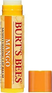 Burt's Bees 100% Natural Moisturizing Lip Balm, Mango Beeswax & Fruit Extracts - 12 Tubes