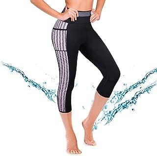 CtriLady Women's Wetsuit Pants UPF 50+ Warmth Neoprene Diving Swimming Surfing Canoeing Leggings Swimwear with Pocket
