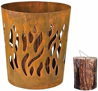 Esschert Design Schwedenfeuerkorb, Feuerstelle, aus Metall
