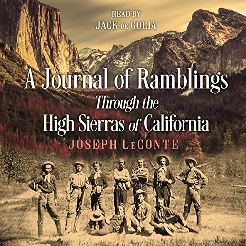 A Journal of Ramblings Through the High Sierras of California Titelbild