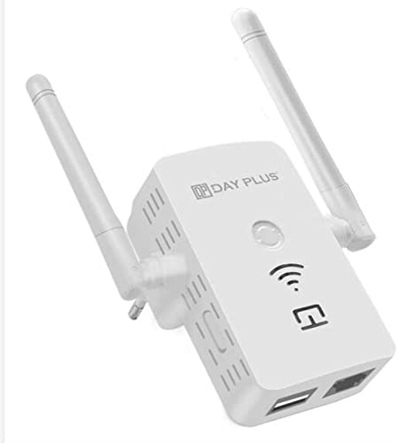 popular WiFi Extender Repeater 300 Mbps outlet sale with WPS Button Ethernet Port, Internet Signal Booster, Strong discount Coverage up to 2025 Sq.ft, Compatible with Most Router/Gateway/Access Point, Easy Setup online sale
