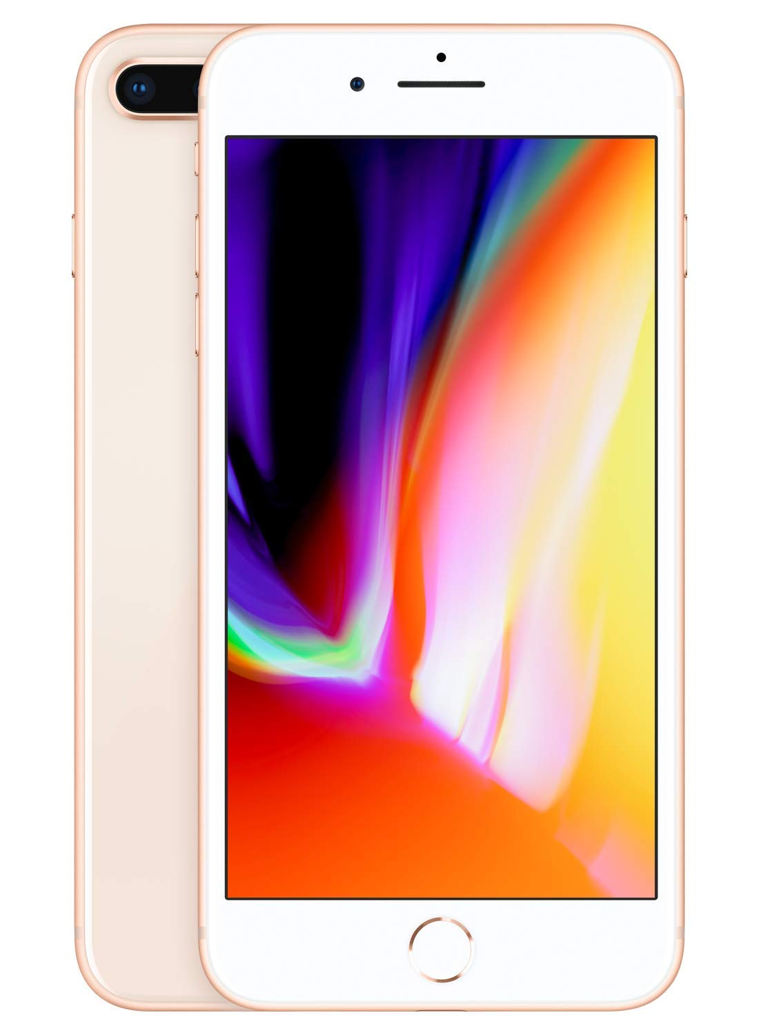 Apple iPhone 8 Plus [64GB, Gold] + Carrier Subscription [Cricket Wireless]