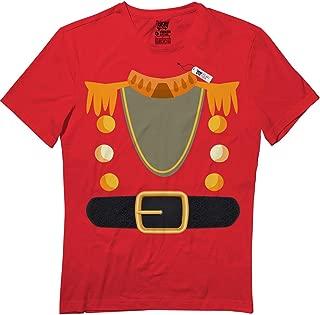 Wooden Toy Soldier Christmas Nutcracker Costume Mens TuD T-Shirt