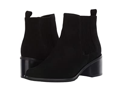Blondo Elvina Waterproof Bootie (Black Suede) Women