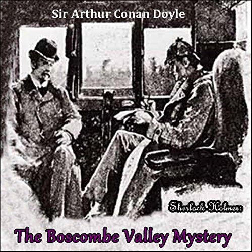 Sherlock Holmes: The Boscombe Valley Mystery audiobook cover art