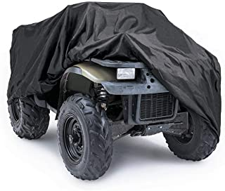 Angooni ATV Cover Waterproof Outdoor Storage, Heavy Duty 4 Wheeler Cover Fit All Weather - Universal Size
