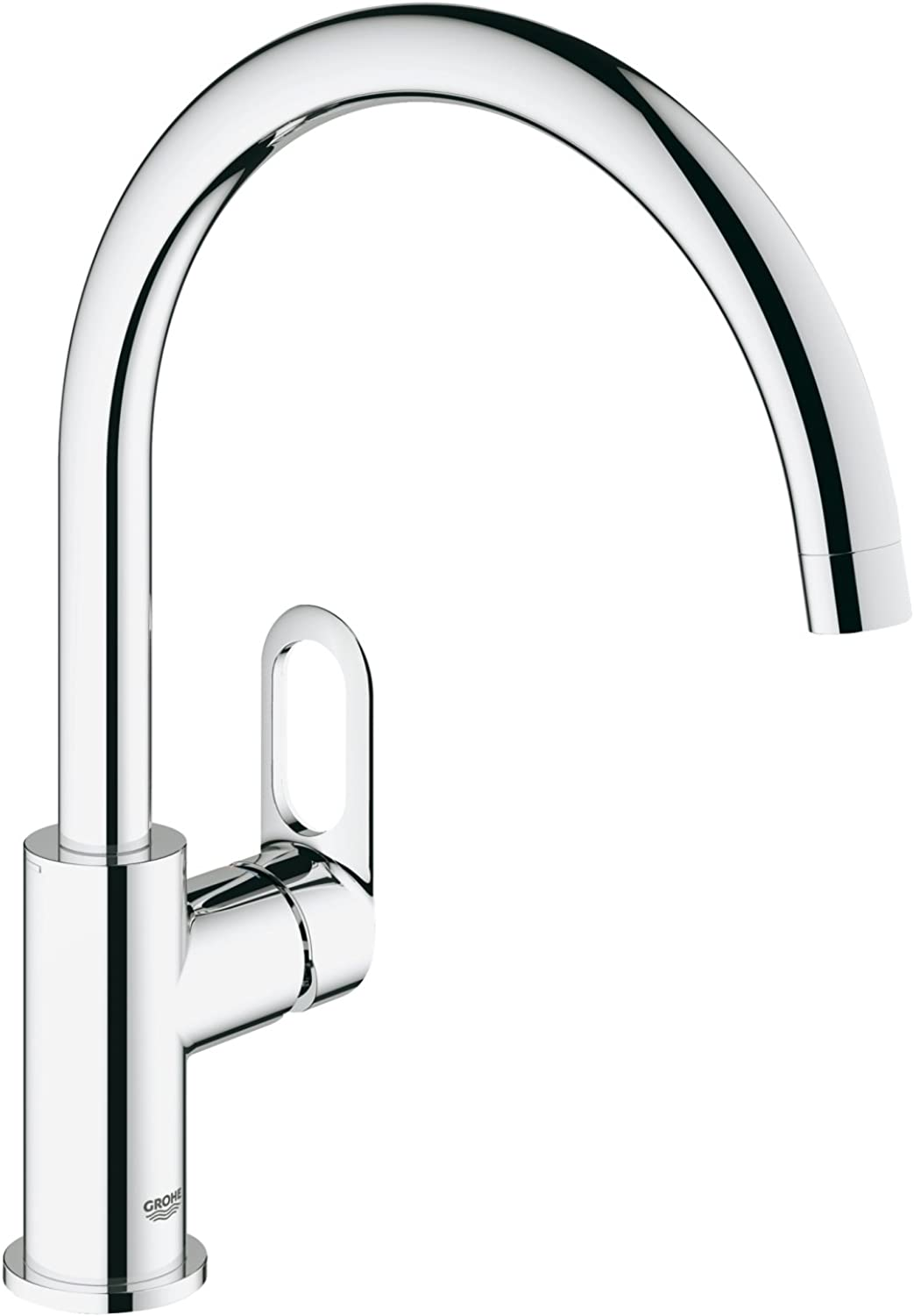 GROHE 31368000 BauLoop Single-Lever Basin Mixer, Chrome