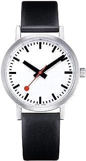 Mondaine - Classic - Reloj de Cuero Negro para Hombre y Mujer, A660.30360.16OM, 40 MM.