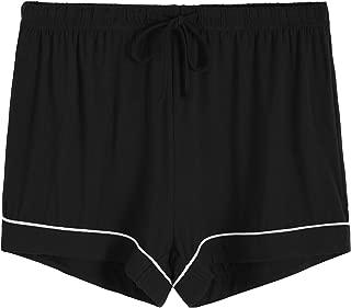 Women's Pajamas Shorts Bamboo Viscose Bottoms with Drawstring
