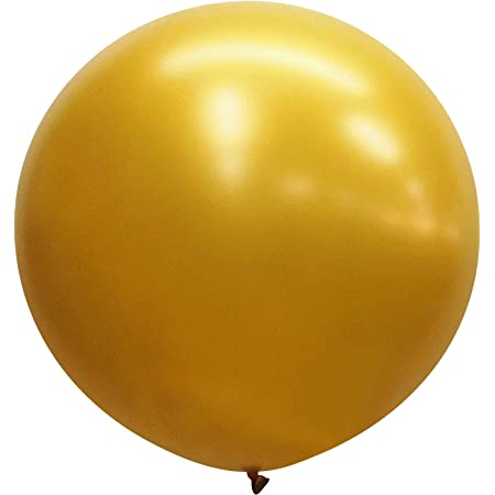 Wedding Balloons Decorations Details about  /2 x Giant Gold Round Balloons 30 inch