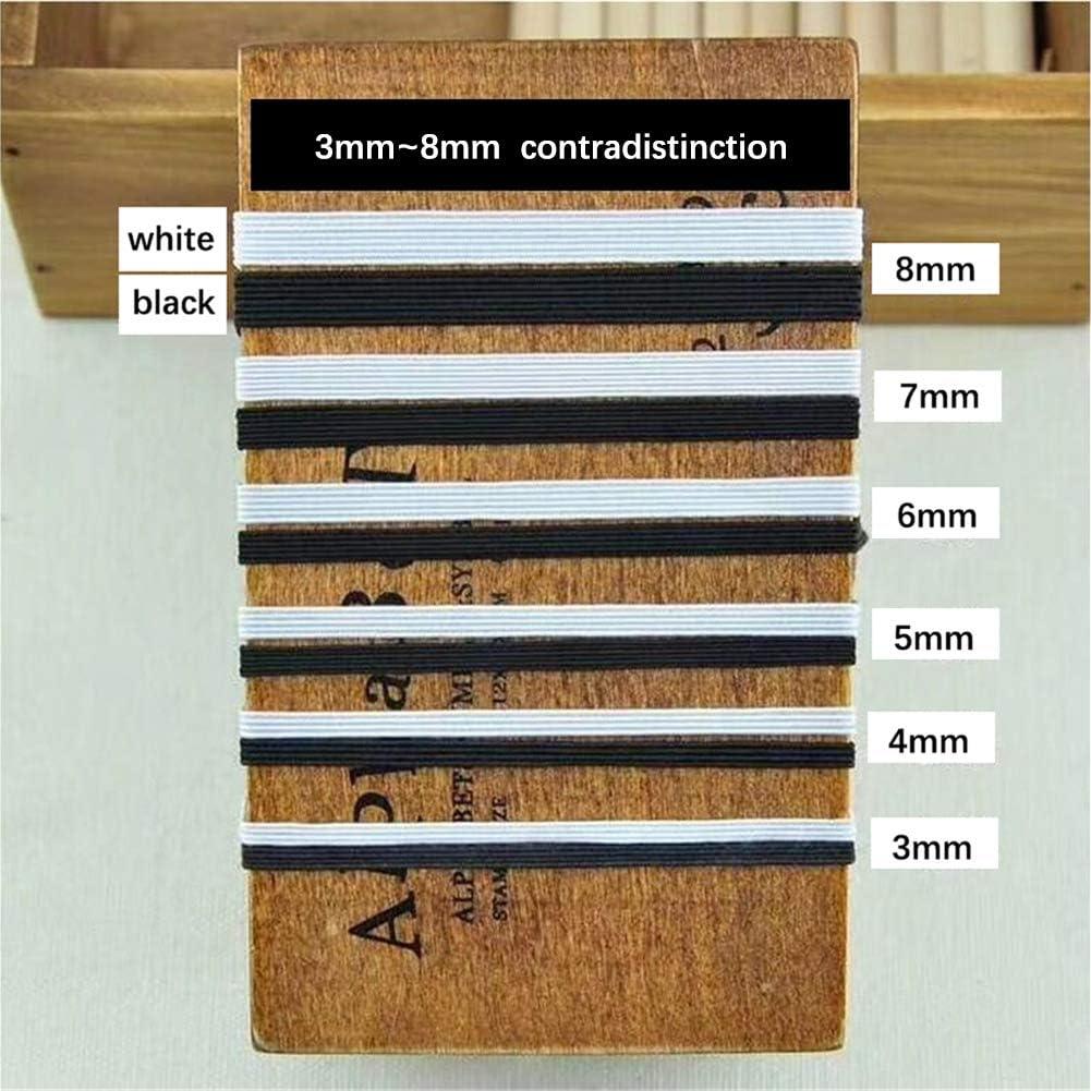 Shamdon Home Collection /Élastique en caoutchouc /à coudre 3 mm de large Longueur 113 m