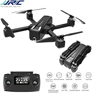 Alician Drone Trajectory Flight Altitude Hold G-Sensor 3D Flips 6-Axis Gyro Gimbal JJRC X11 5G WiFi FPV with 2K Camera GPS 20mins Flight Time Foldable RC Quadcopter vs f11 b4w sg906 1 Battery