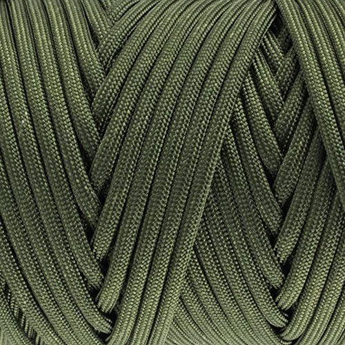 GOLBERG 550lb Parachute Cord Paracord  100% Nylon MilSpec Type III Paracord – Authentic MilSpec Type II MILC5040H Paracord  Used by The US Military