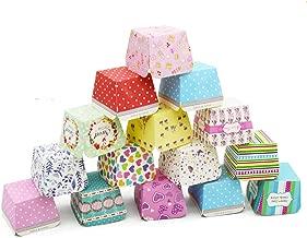 Viesky Lot de 12 caissettes /à cupcakes Motif dinosaure Red