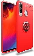جراب Avalri لهاتف Samsung Galaxy A8S، غطاء رفيع ناعم وواقي كامل يدور 360 درجة مع خاصية تثبيت مغناطيسية للسيارة لهاتف Galaxy A8S, احمر