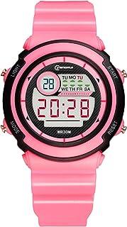 Kids Boys Girls Digital Watches,50M Waterproof Age 5-7 7-10 10-15 with Alarm Stopwatch Wristwatch for Boys Girls