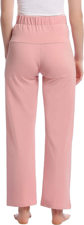 lunghi sopra la pancia Pantaloni premaman da donna per gravidanza pigiama e pantaloni da yoga