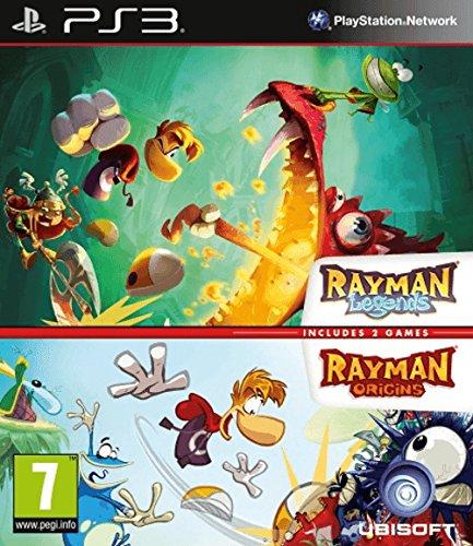 Sony Rayman Legends + Rayman Origins, PS3 PlayStation 3 vídeo - Juego (PS3, PlayStation 3, Plataforma, Modo multijugador, E10 + (Everyone 10 +))