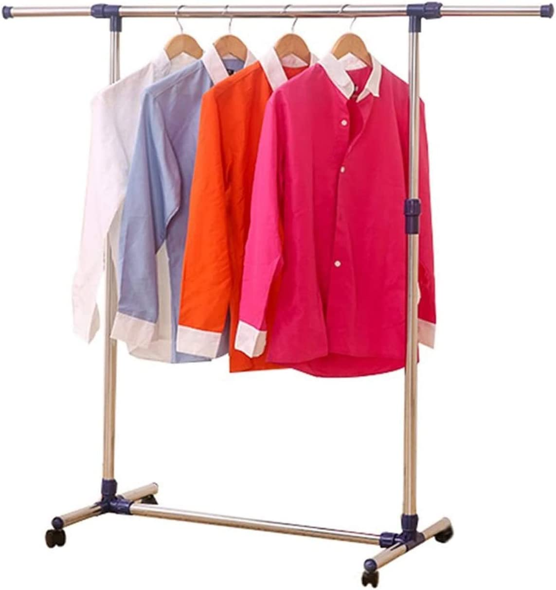 Clothes Boston Mall Drying Rack Laundry Storage Telescopic R Single Products Max 89% OFF