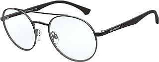 Emporio Armani EA 1107 Black Ruthenium 53/20/145 men Eyewear Frame