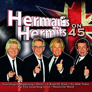 Herman's Hermits on 45