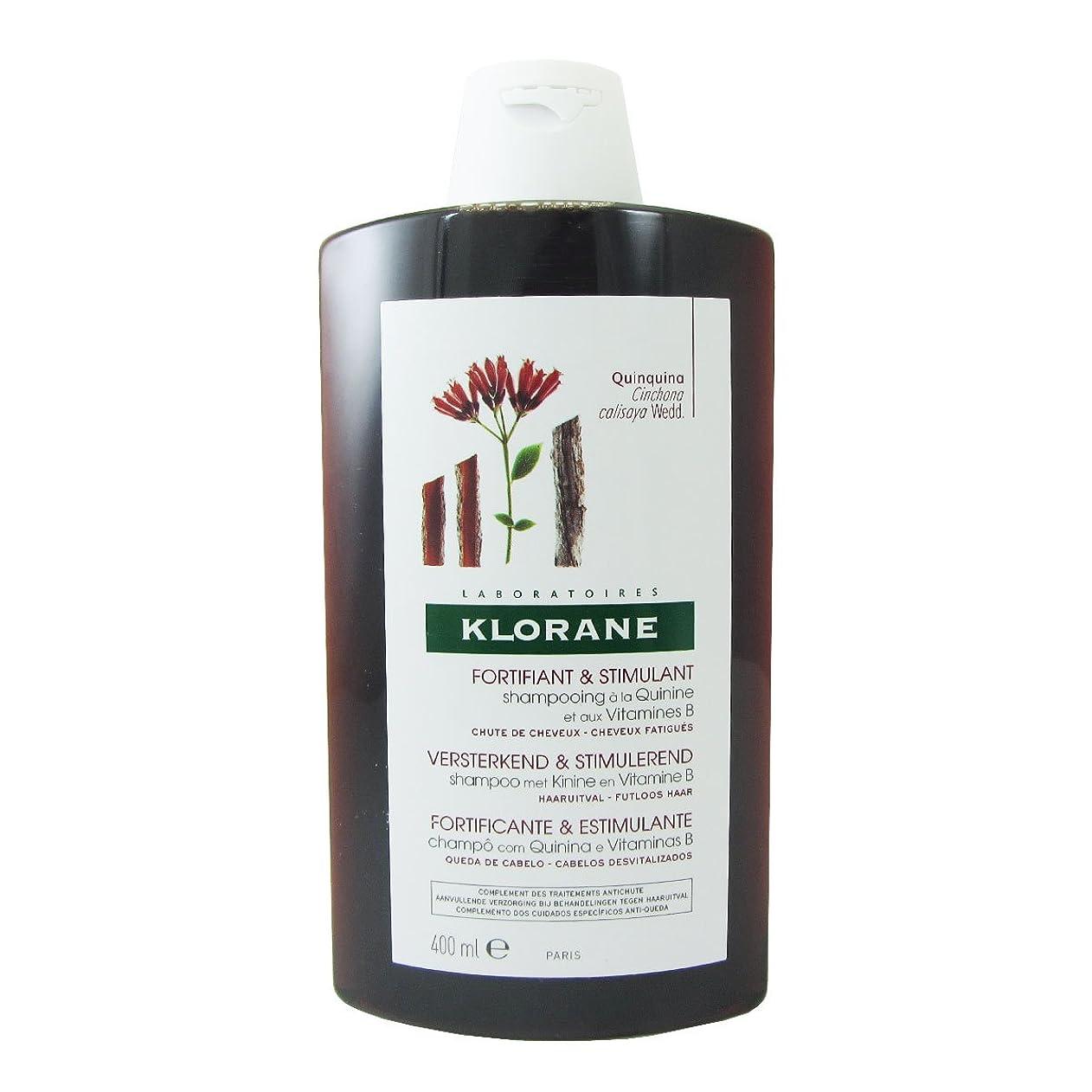 プラス持続的ヶ月目Klorane Quinine Fortifying Shampoo 400ml [並行輸入品]