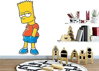 213 Dek D/éco G/âteau Anniversaire Pvc R/ésine Kit de d/écoration Bart Simpson