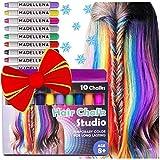 Hair Chalk, Temporary Hair Color, Teenage Girl Gifts, Hair Chalk for Girls, Temporary Hair Dye for...
