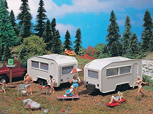 Vollmer 45147 Wohnwagen, 2 Stück