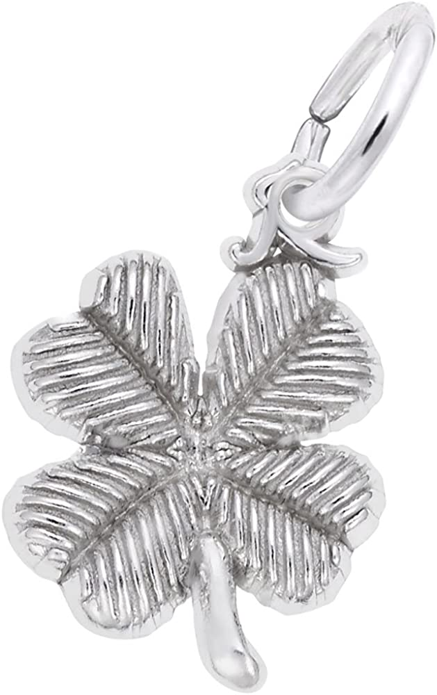 4 Leaf Clover Charm, Charms for Bracelets and Necklaces