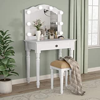 cheap hollywood vanity set