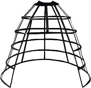 Cage Hoop Skirt Petticoat Dress Pannier 5 Hoops Bustle Cage Crinoline