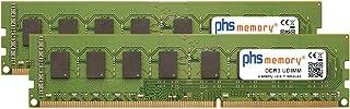 PHS-memory 16GB (2x8GB) Kit RAM módulo para ASUS H97M-E DDR3 UDIMM 1600MHz PC3-12800U