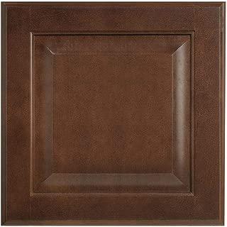 12.75x14 in. Cabinet Door Sample in Hampton Cognac