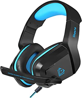Vertux Gaming Headphone, Professional Over-Ear 3.5mm Gaming Headset with Noise-Isolating Microphone, HD Sound, Volume Cont...
