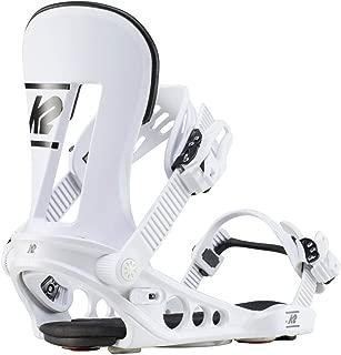 K2 Lineup 2020 Snowboard Bindings - White - MD
