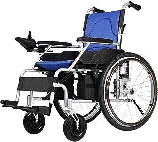 De peso ligero plegable sillas de ruedas eléctrica Silla de ruedas eléctrica for los ancianos discapacitados, 500W Worm Gear Motor, maneje con energía eléctrica o el uso como ruedas manual, Anchura de