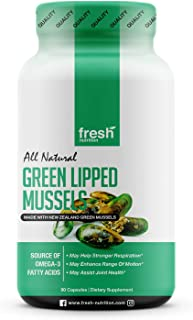 Green Lipped Mussel Capsules - Strongest DNA Verified from New Zealand - Great for Humans and Dogs Alike! Perna Canaliculu...