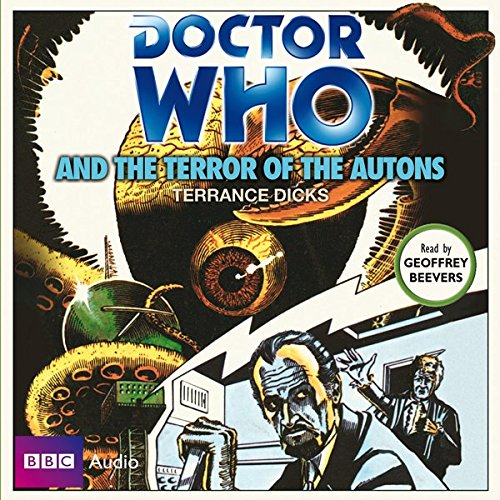 Doctor Who and the Terror of the Autons audiobook cover art