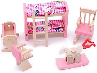 mobili in Miniatura Interni della Cucina per casa delle Bambole 1:12 Alinory Decorazione Ecologica Mobili per casa delle Bambole Fai-da-Te